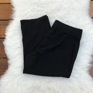 Eileen Fisher Black Cropped Pants Size Medium